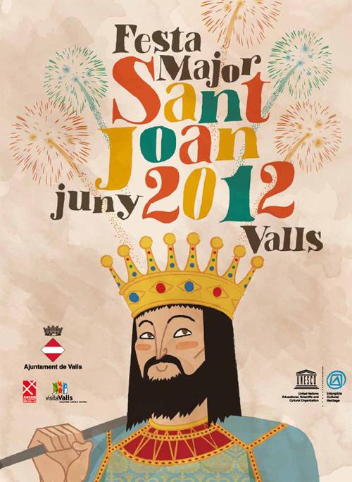 Festa Major de Sant Joan Baptista a Valls