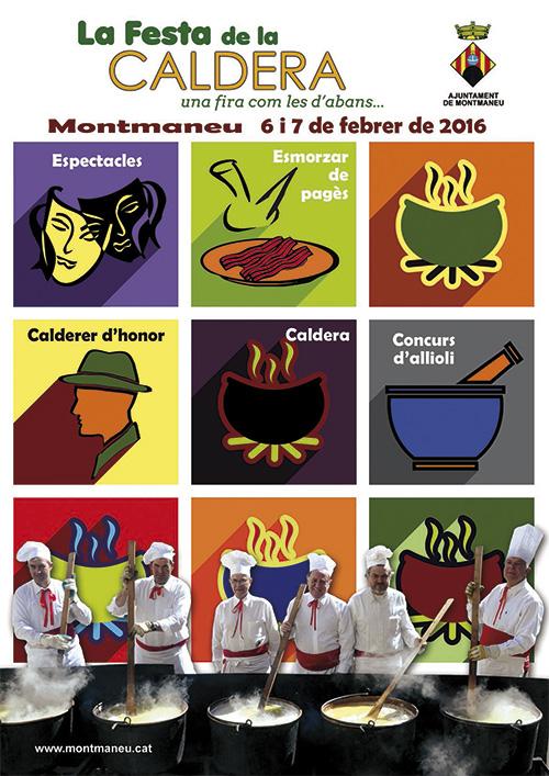 Festa de la Caldera a Montmaneu