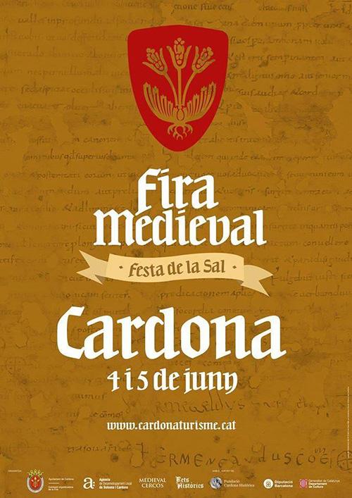Fira Medieval i Festa de la Sal a Cardona