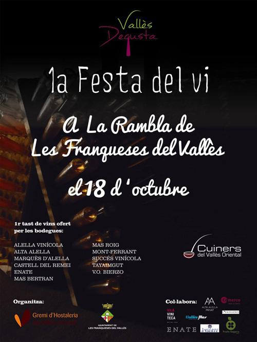 1a Festa del vi a les Franqueses del Vallès