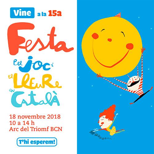 15a Festa del Joc i el Lleure en Català a Barcelona