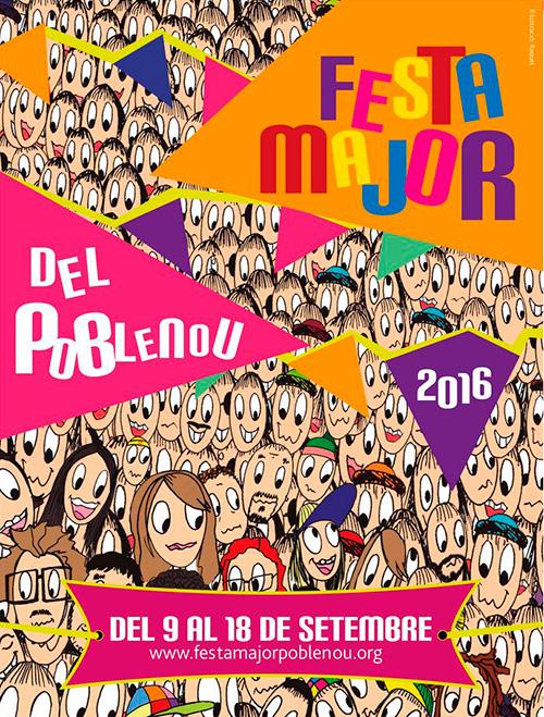 Festa Major del Poblenou, Barcelona