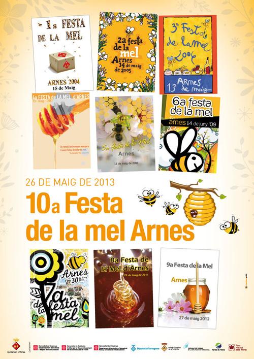 10a Festa de la mel a Arnes