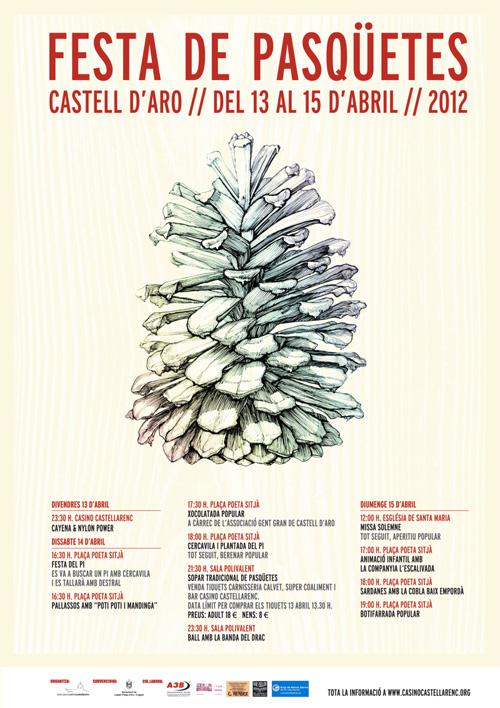 Festa de Pasqà¼etes a Castell-Platja d'Aro
