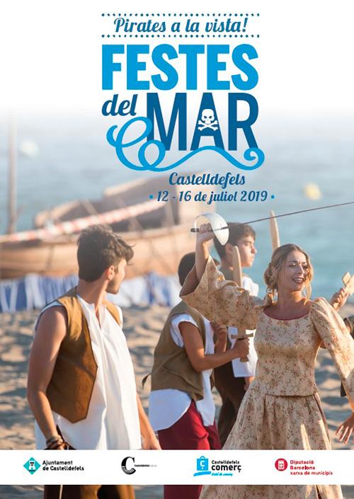 La Festa del Mar a Castelldefels, el Baix Llobregat