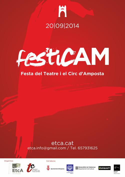 I FesticAM. Festa del Teatre i el Circ d'Amposta