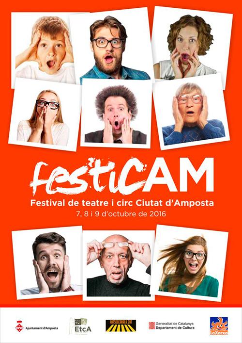 FesticAM - Festival de teatre i circ Ciutat d'Amposta