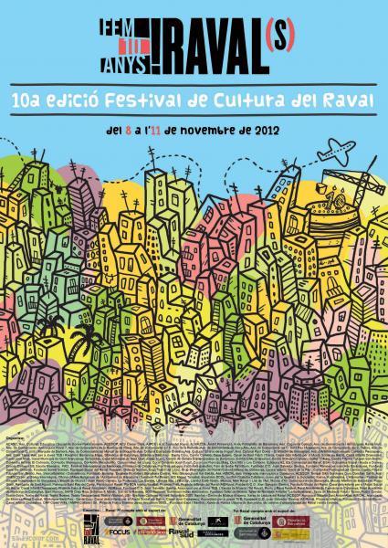 Festival de Cultura del Raval a Barcelona