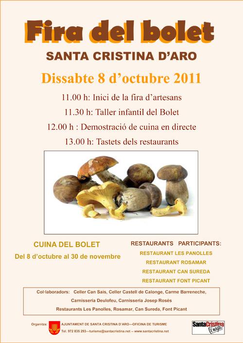 Fira del Bolet de Santa Cristina d'Aro