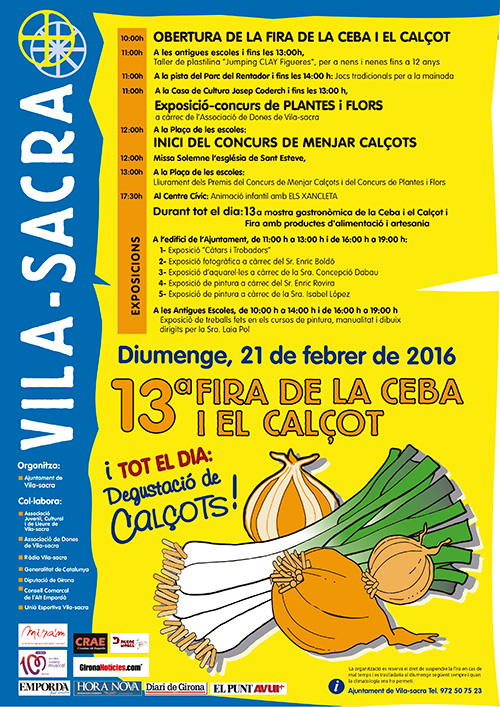 13a Fira de la Ceba i el Calçot a Vila-Sacra