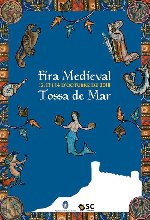 Fira Medieval de Tossa de Mar, el Baix Empordà