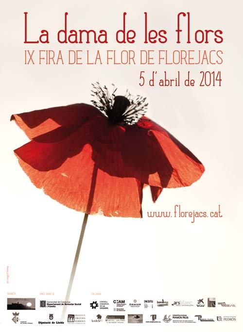 IX Fira de la Flor de Florejacs 'La Dama de les Flors'