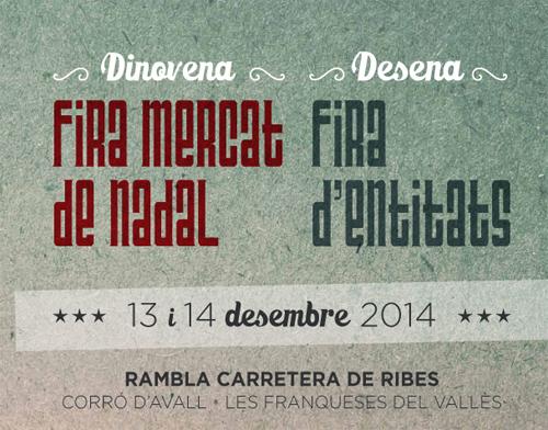 XIX Fira Mercat de Nadal a les Franqueses del Vallès