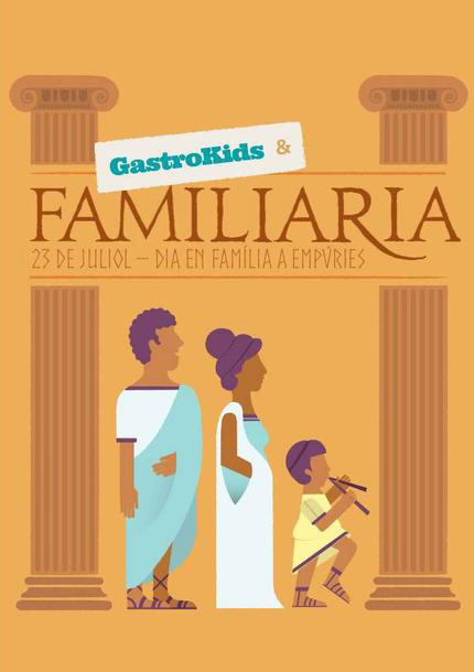 Gastrokids i Familiària a Empúries