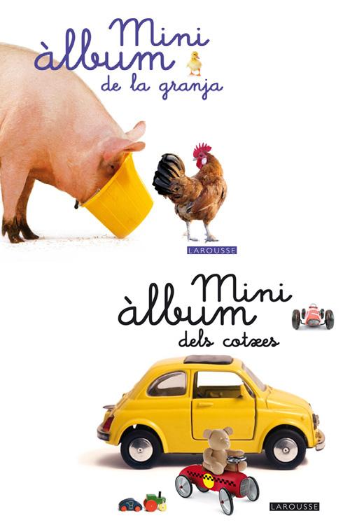 Mini àlbums Larousse: dels cotxes i de la granja
