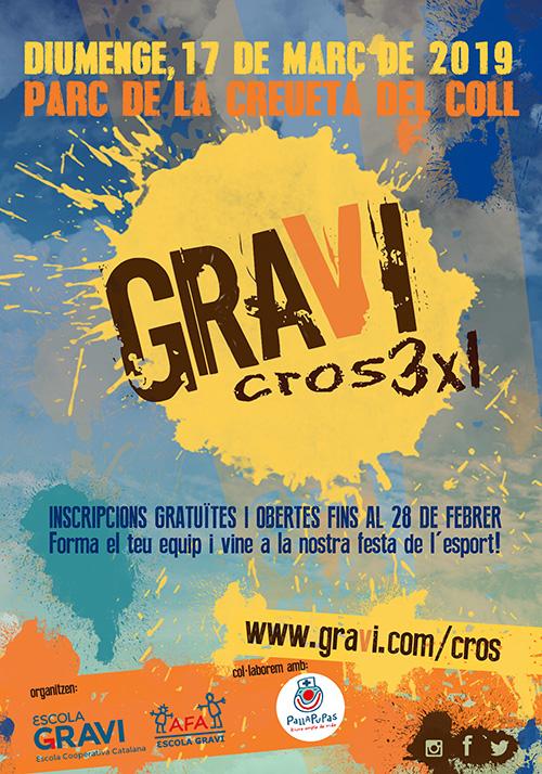 GraviCros3x1 a l'Escola Gravi, Barcelona