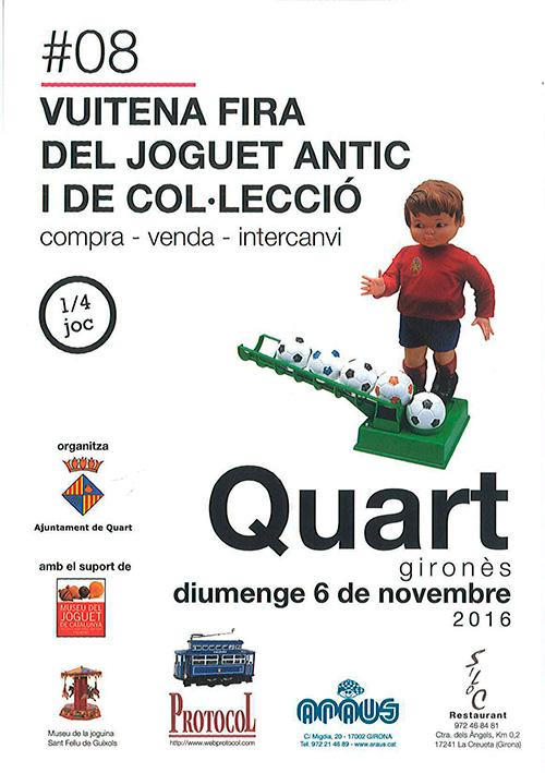 VIII Fira de Joguets Antics i de Col·lecció de Quart