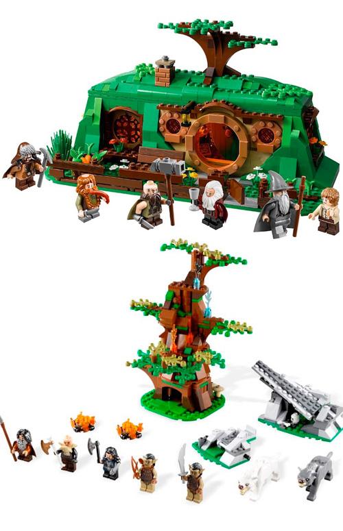 Ja és aquí el LEGO del Hobbit