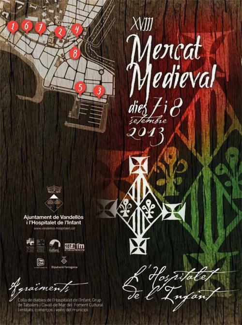 Mercat Medieval de l'Hospitalet de l'Infant