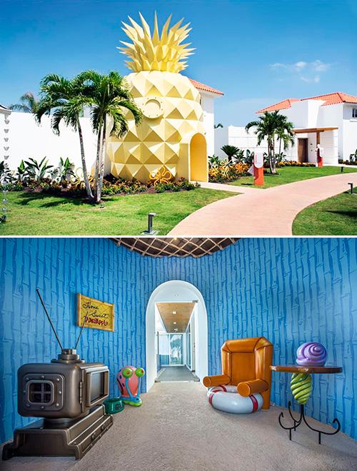 'Pineapple Villa', l'Hotel Bob Esponja!