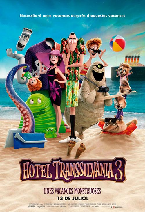 Cinema en català: 'Hotel Transsilvània 3: unes vacances monstruoses'