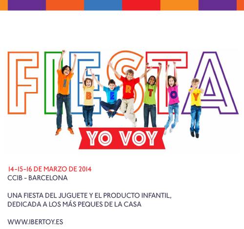 Festa Ibertoy a la Fira de la Joguina i el Producte Infantil de Barcelona