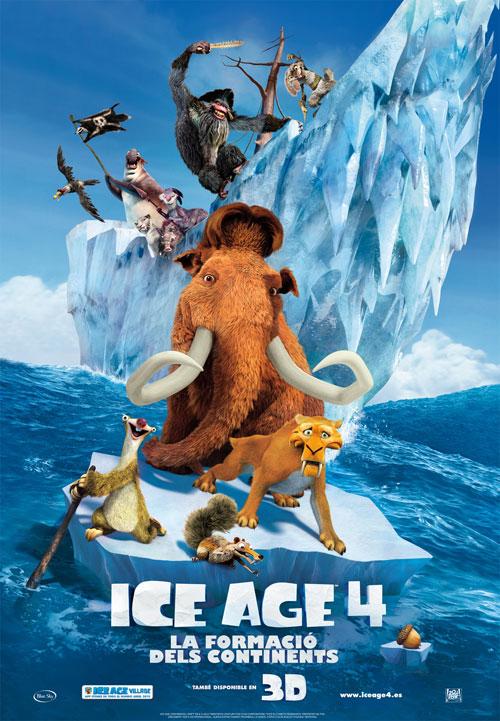 Ice Age 4: la formació dels continents
