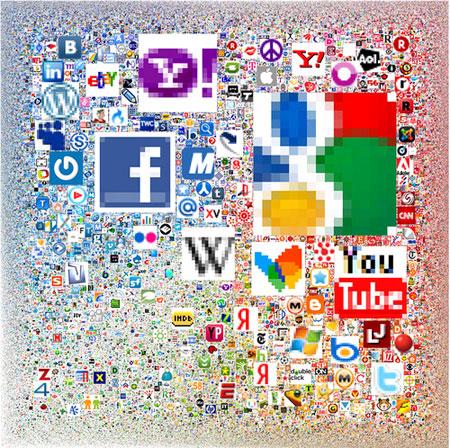 Les 300.000 webs mes vistes d'Internet