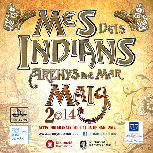 Mes dels Indians a Arenys de Mar