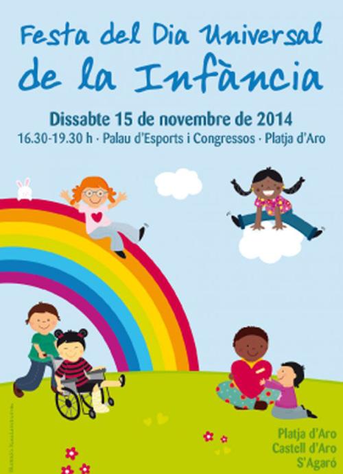 Festa del dia Universal de la Infància a Platja d'Aro