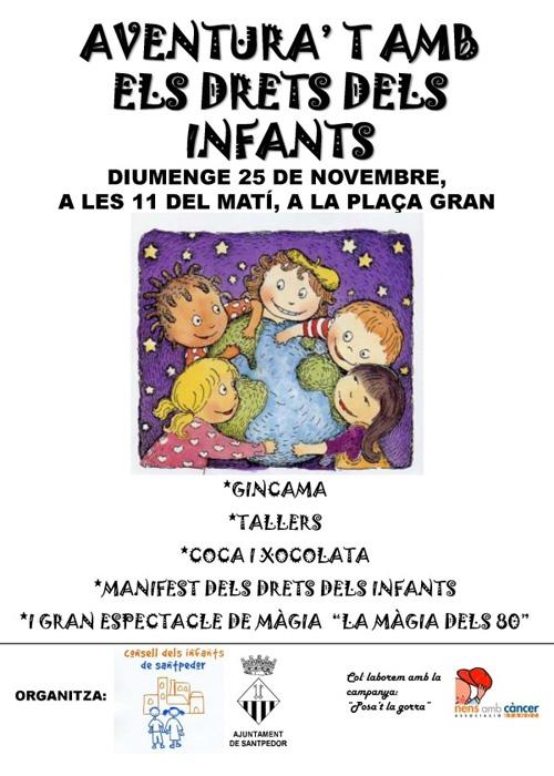 Festa dels drets de l'Infant a Santpedor