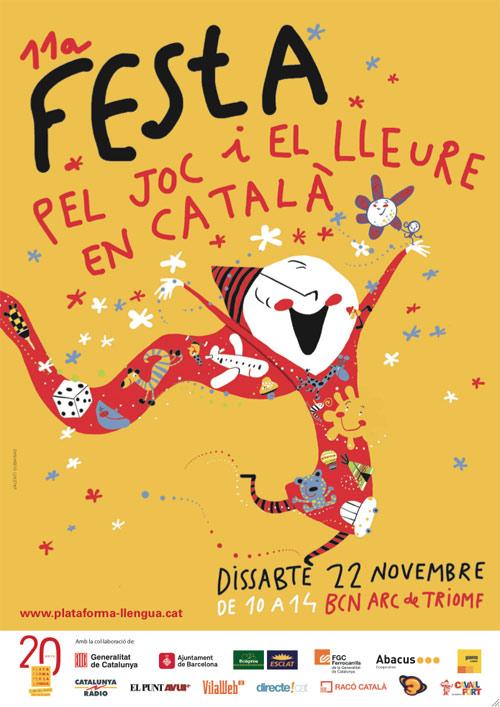 11a Festa pel joc i el lleure en català