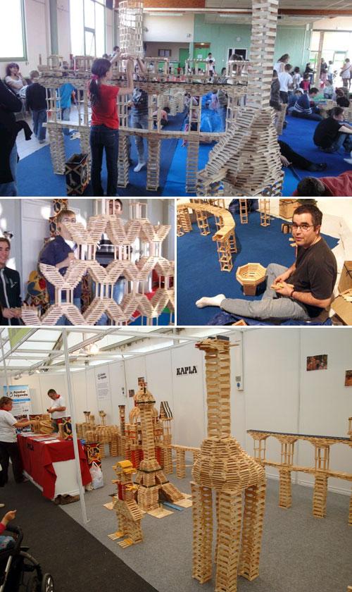 KaplaCat: Tallers de construcció pedagògics