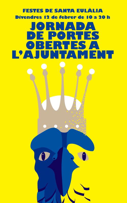 Portes Obertes a l'Ajuntament de Barcelona amb motiu de les Festes de Santa Eulàlia