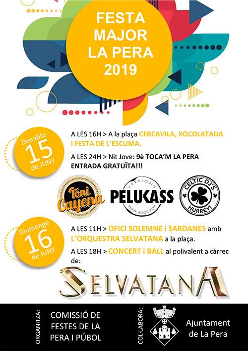 Festa Major de La Pera, el Baix Empordà