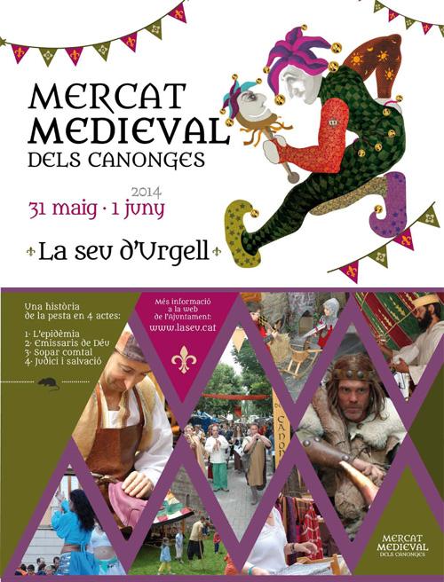 Mercat Medieval dels Canonges a la Seu d'Urgell