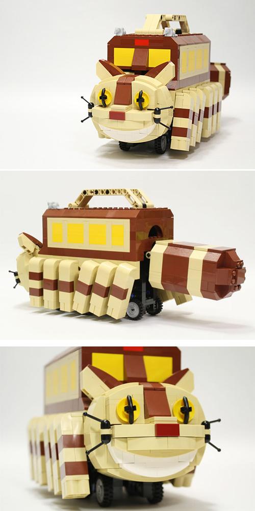El Catbus de Totoro...fet de Lego!