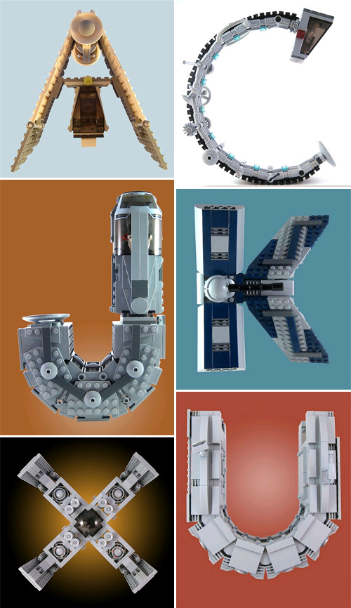 Alfabet Lego