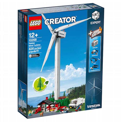 Turbina eòlica de Lego fabricada amb plàstics sostenibles