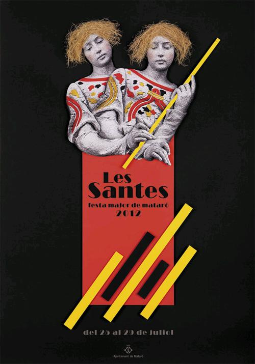 Les Santes 2012, Festa Major de Mataró