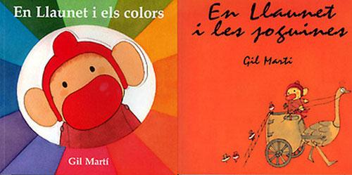 En Llaunet i les joguines, i en Llaunet i els colors
