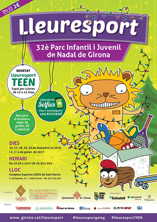 Lleuresport, Parc Infantil de Nadal de Girona