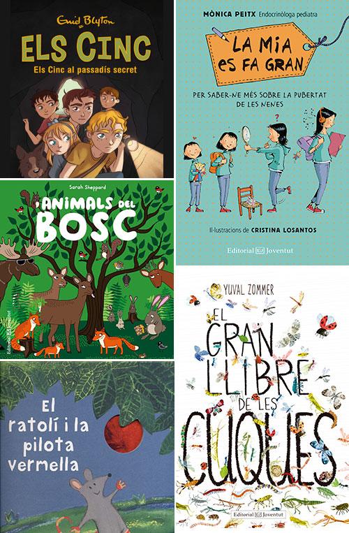 Novetats de Sant Jordi a Editorial Joventut