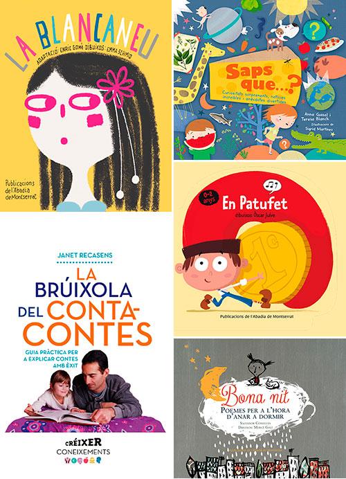 Novetats de Publicacions de l'Abadia de Montserrat per Sant Jordi