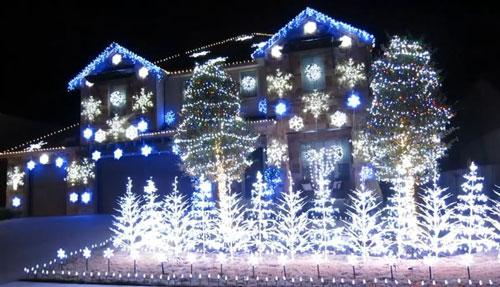 Espectacular Nadal gelat (Frozen)