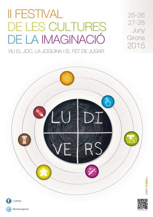 Ludivers, Festival de les cultures de la imaginació, Girona