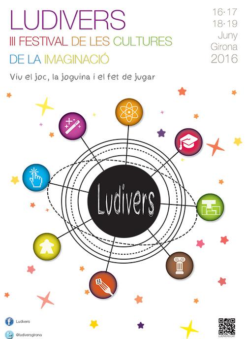 Ludivers, III Festival de les Cultures de la Imaginació, Girona
