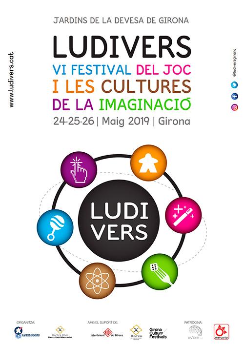 Ludivers, VI Festival del Joc i les Cultures de la Imaginació a Girona