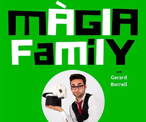 Guanyadors del packs familiars per veure 'Màgia Family', a l'Eixample Teatre