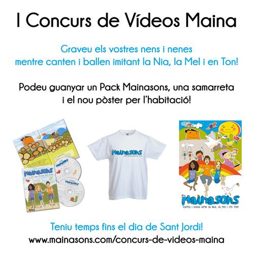 I Concurs de Vídeo Mainasons